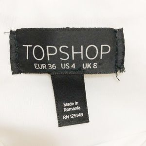 Topshop Skirts - Topshop Stripe Scallop Skirt